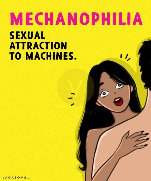 Cartoon - MECHANOPHILIA SEXUAL ATTRACTION TO MACHINES VAGABOMB.co
