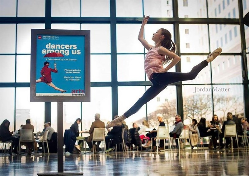 kids dancing in public places - Dance - Brookfield Place d30y StL dancers amang us A Celebration of Joy in the Everyday Photographs by Jordan Matter March 20-May 14 12-6pm daily JordanMatter arts Brookfield