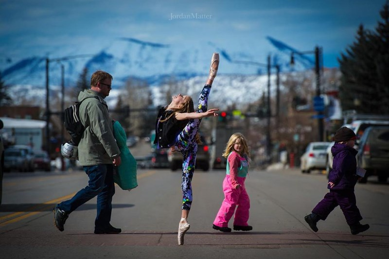 kids dancing in public places - People - JordanMatter
