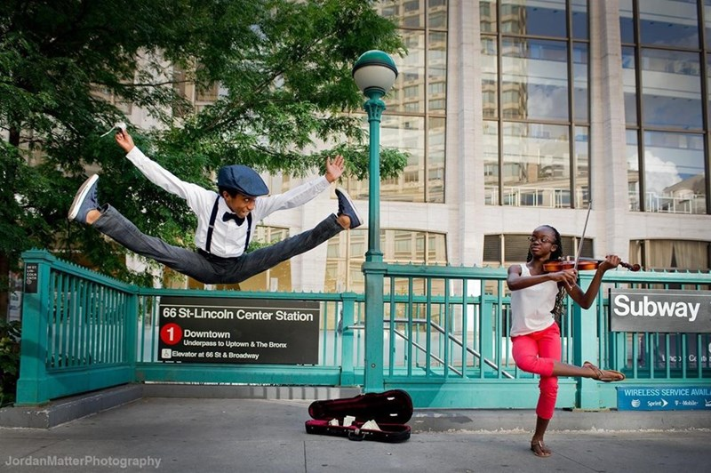 kids dancing in public places - Street stunts - Subway 66 St-Lincoln Center Station Downtown Underpass to Uptown & The Brorx Elevator at 66 St & Broadway nc C WIRELESS SERVICE AVAIL Sprint FMobile- JordanMatterPhotography