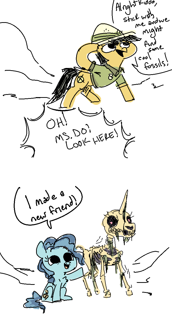 nobody spooky scary skeletons comic petunia paleo daring do - 9086977280