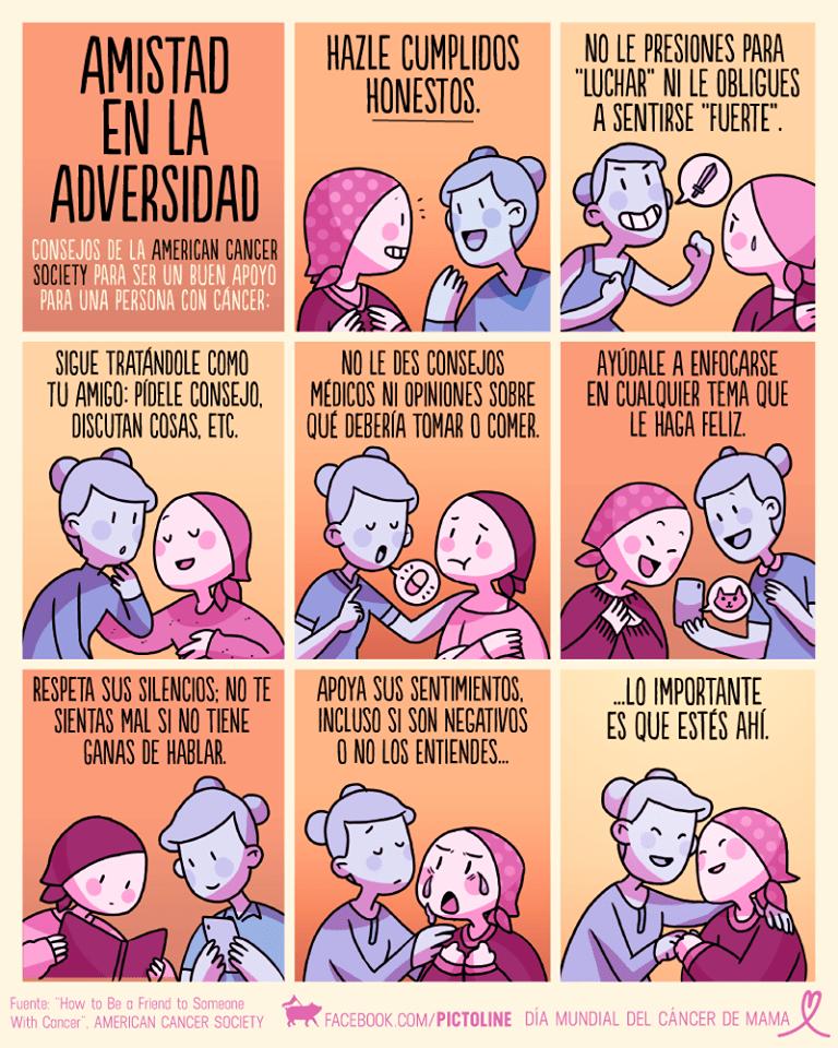consejos de la amistad en la adversidad