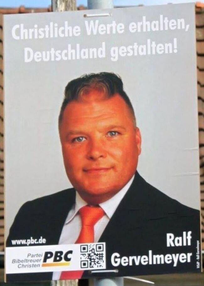 Forehead - Christliche Werte erhalten, Deutschland gestalten! Ralf Gervelmeyer www.pbc.de Parte PBC Bibeltreuer Christen