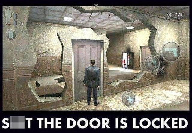 Action-adventure game - 28 126 40 Tal Berenas S T THE DOOR IS LOCKED