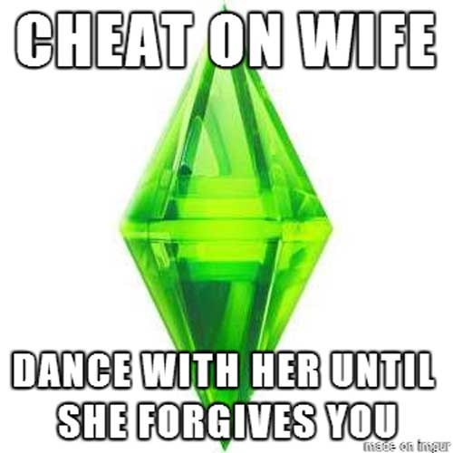 CHEAT ON WIFE DANCE WITH HER UNTIL SHE FORGIVES YOU