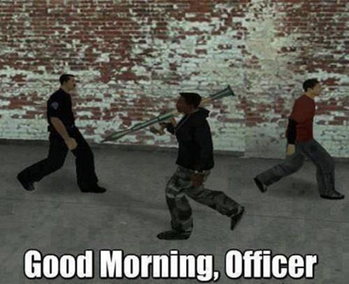 Kung fu - Good Morning, Officer