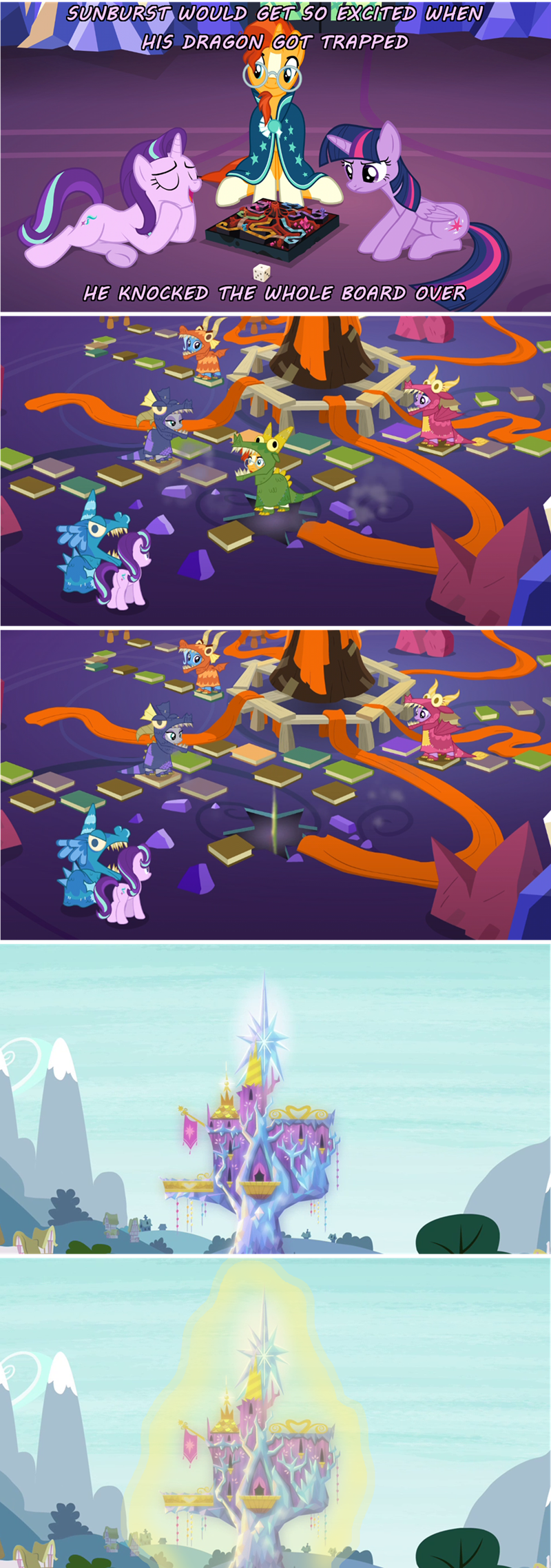 comic screencap sunburst starlight glimmer uncommon bond - 9087781632