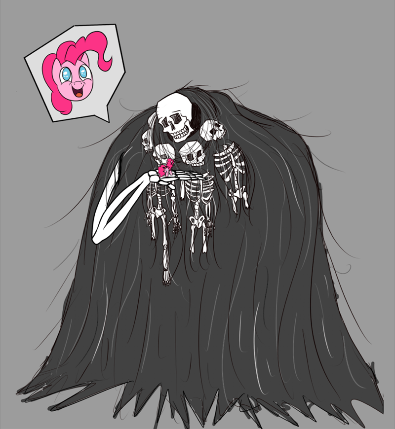 dark souls pinkie pie puns spooky scary skeletons midnight wizard gravelord nito - 9087782400