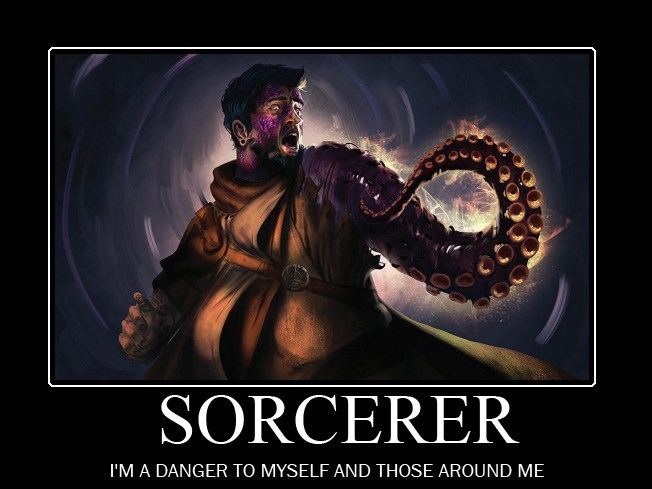 Cg artwork - SORCERER I'M A DANGER TO MYSELF AND THOSE AROUND ME