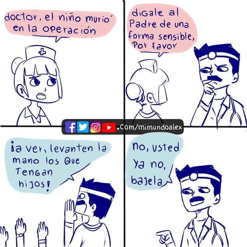 cuando el doctor tiene que informarle a los padres de la muerte de su hijo