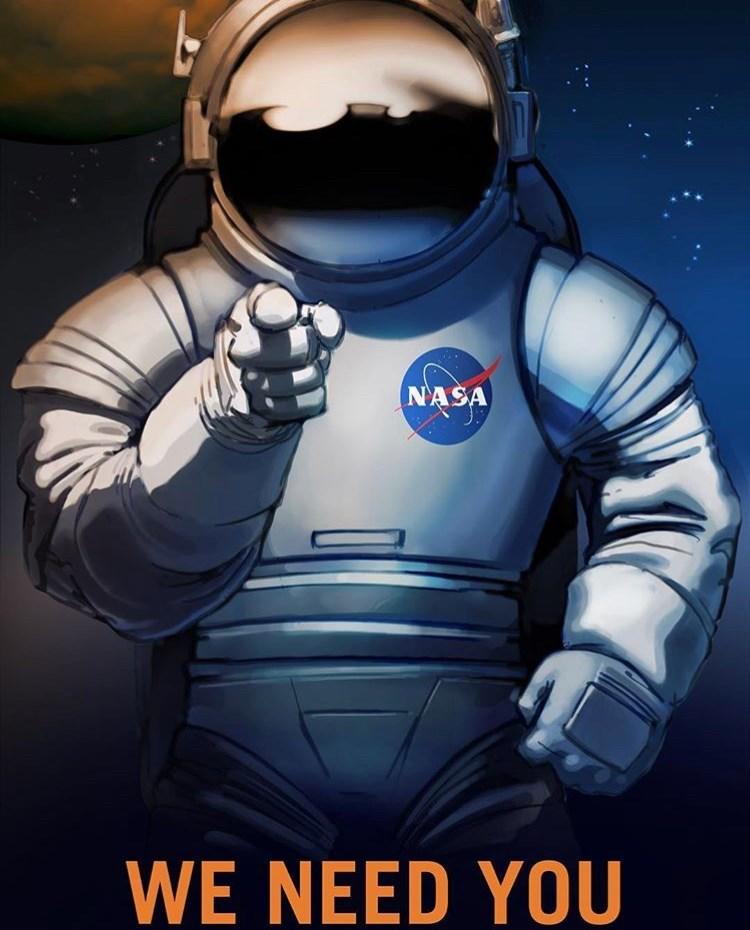 Astronaut - NASA WE NEED YOU