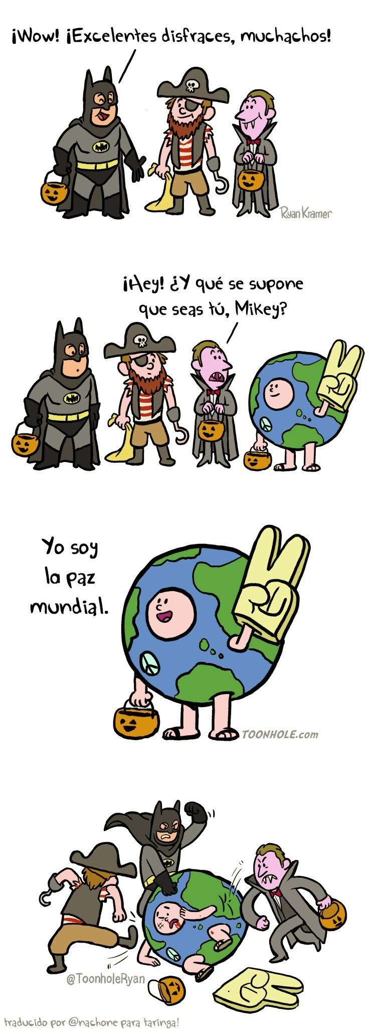 comic sobre la paz mundial