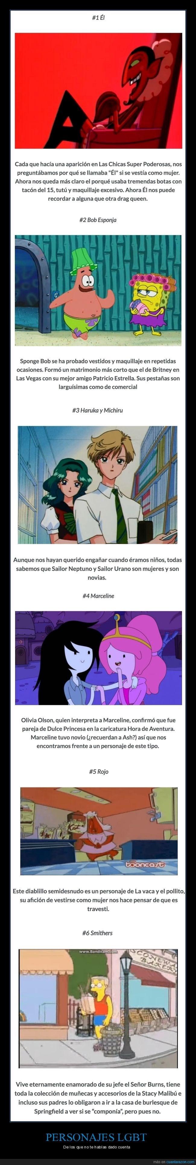 infancia destruida con el nivel de los dibujos animados actuales
