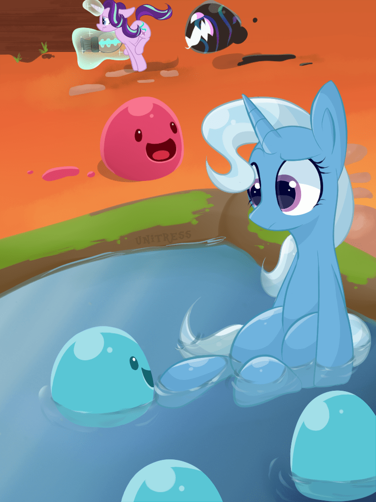 the great and powerful trixie unitress starlight glimmer slime rancher - 9088802048
