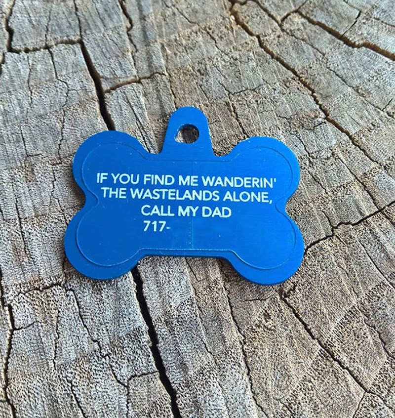 Blue - IF YOU FIND ME WANDERIN' THE WASTELANDS ALONE, CALL MY DAD 717-