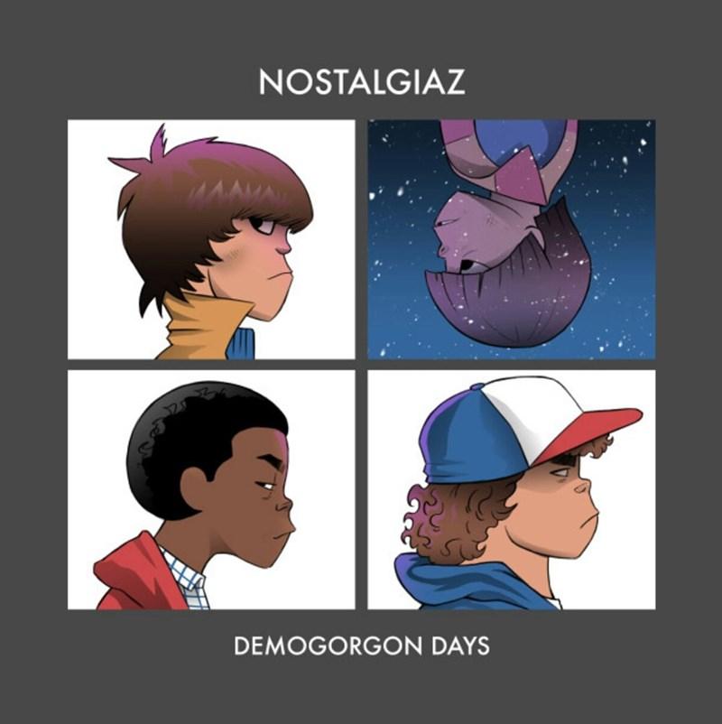 Cartoon - NOSTALGIAZ DEMOGORGON DAYS