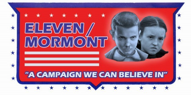 """Font - ELEVEN MORMONT """"A CAMPAIGN WE CAN BELIEVE IN"""""""