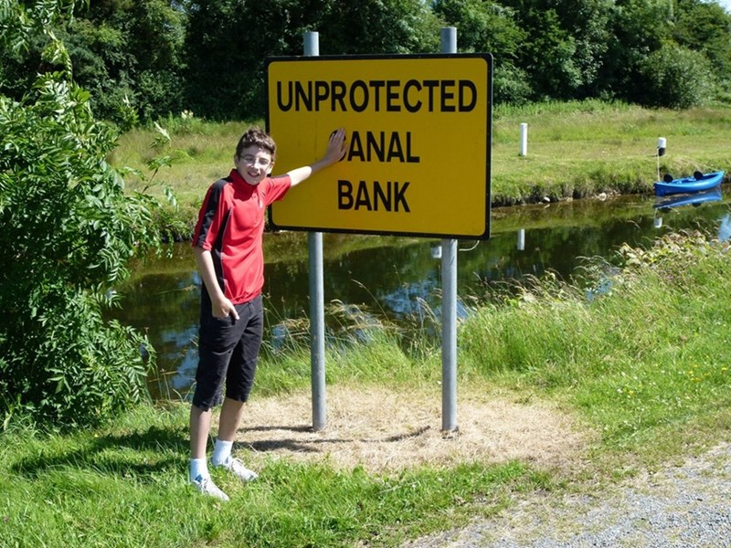 Nature reserve - UNPROTECTED ANAL BANK
