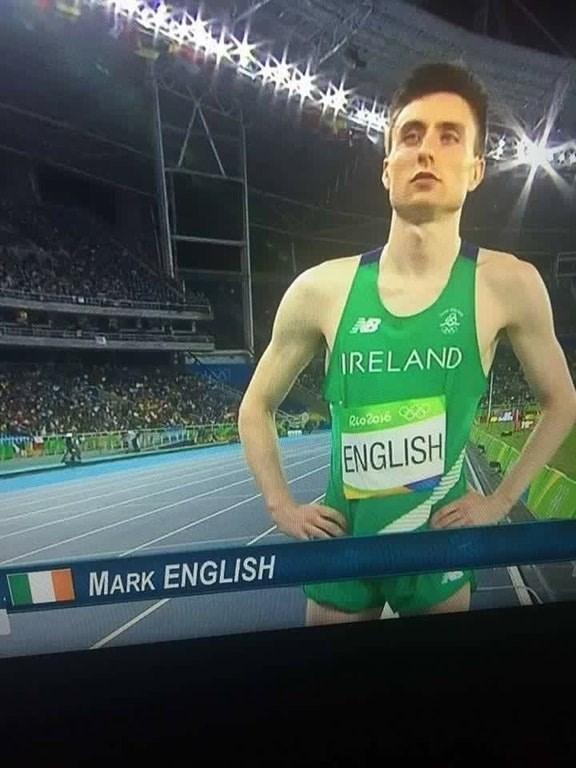 Sports - IRELAND RioZ016 ENGLISH MARK ENGLISH