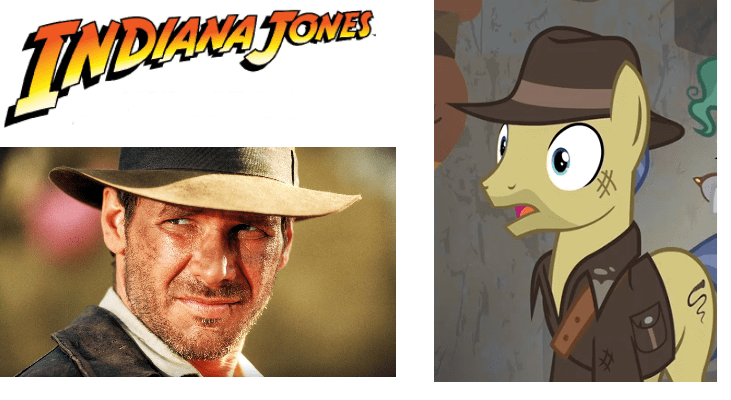 Indiana Jones screencap shadow play ponify - 9090139648