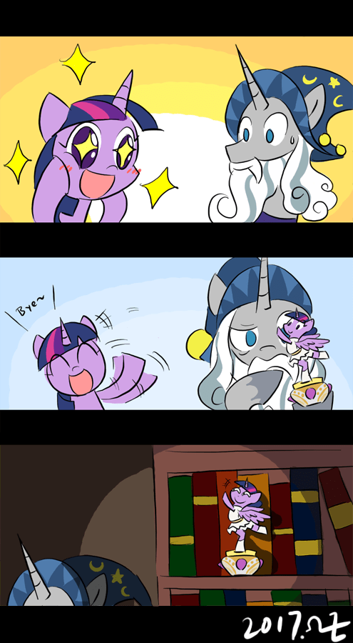 starswirl the bearded rvceric twilight sparkle a royal problem shadow play comic - 9090329344