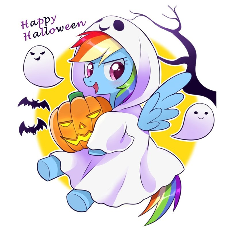 halloween ryuu nightmare night rainbow dash - 9090707712
