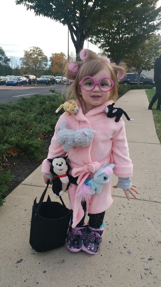 crazy cat lady costume - Pink