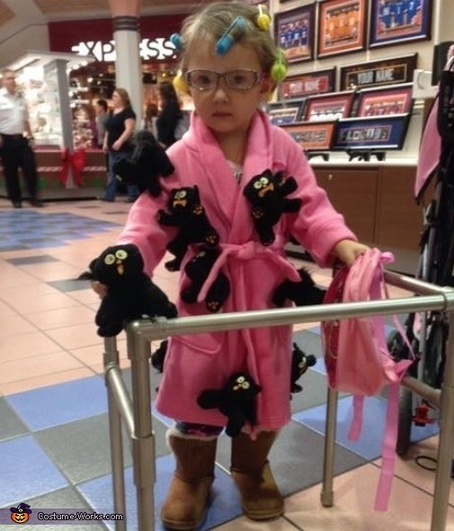 crazy cat lady costume - Pink - TH XPSS Costume Works.com