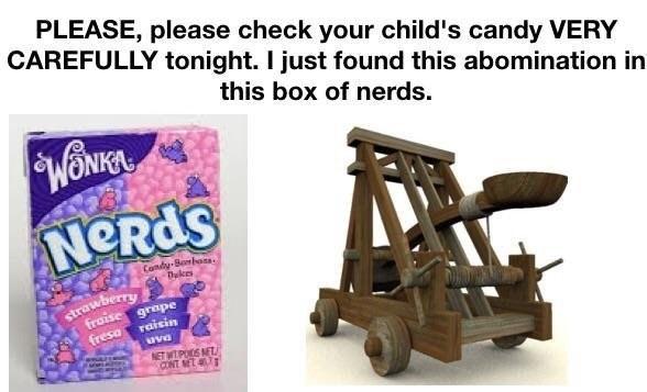 Funny rebuchet halloween meme.
