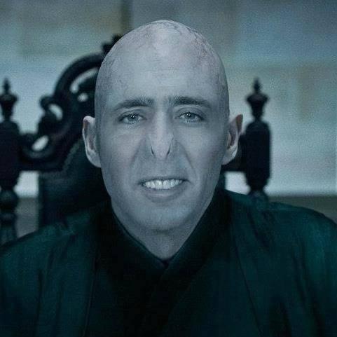 Nicolas Cage as the Snape