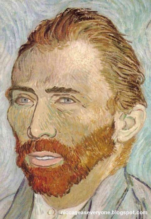 Nicolas Cage as Van Gogh
