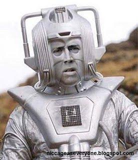 Nicolas Cage as the tin man