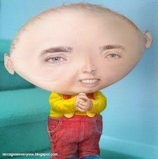 Nicolas Cage as Stewie from Family Guy