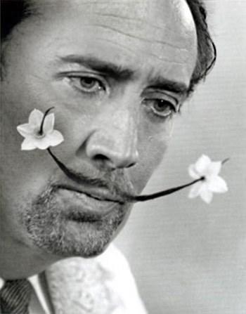 Nicolas Cage as Salvador Dali