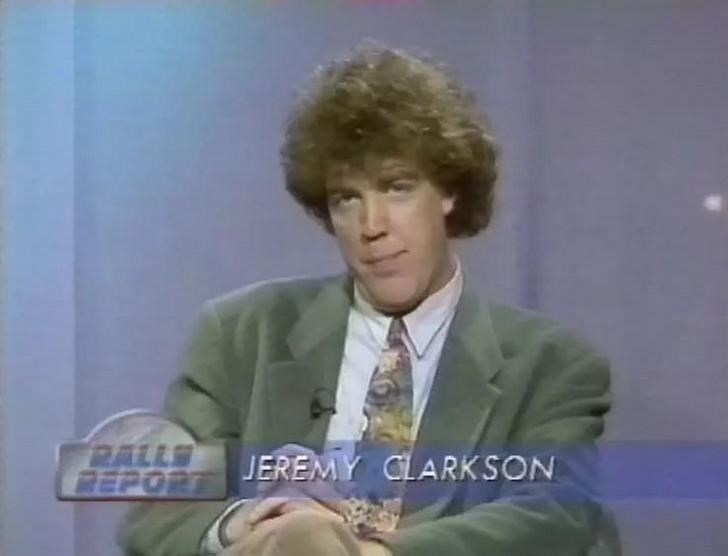 Facial expression - RALLS PEPORT JEREMY CLARKSON