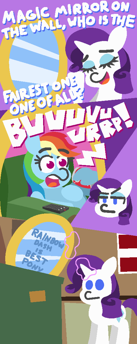 rarity comic best pony threetwotwo32232 rainbow dash - 9091524096