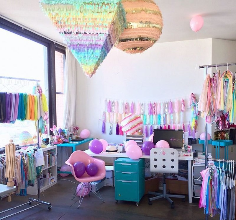 interior decoration - Pink