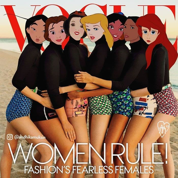 Friendship - O @andhikamuksin WOMENRULE FASHION'S FEARLESS FEMALES