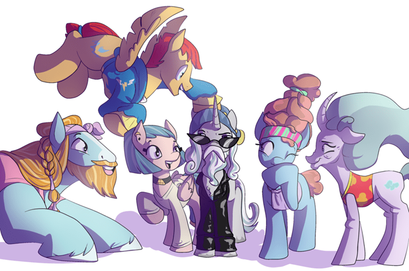 starswirl the bearded flash magnus rockhoof somnambula meadowbrook mistmane hey erika - 9091976192