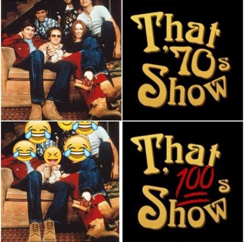 Funny meme about emojis.