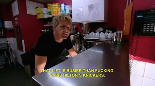 Room - THAT LIFT IS BUSIER THAN FUCKING PARIS HILTON'S KNICKERS