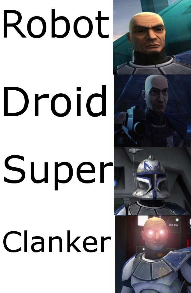 Evolution of Captain Rex from Clone Wars