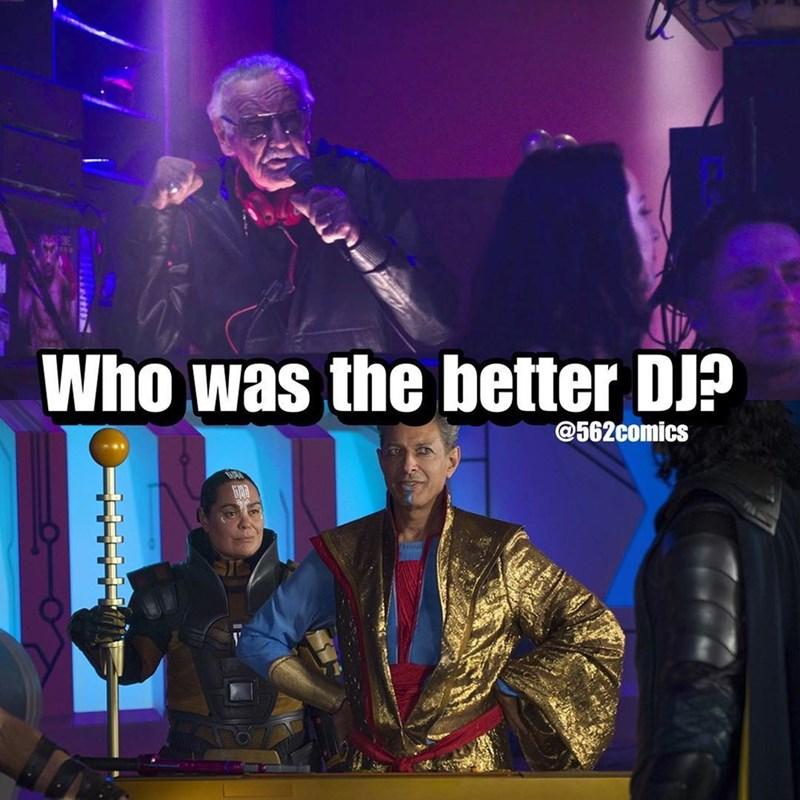 Music artist - Who was the better DJP @562comics