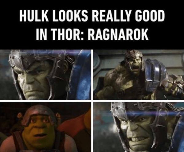 Fictional character - HULK LOOKS REALLY GOOD IN THOR: RAGNAROK