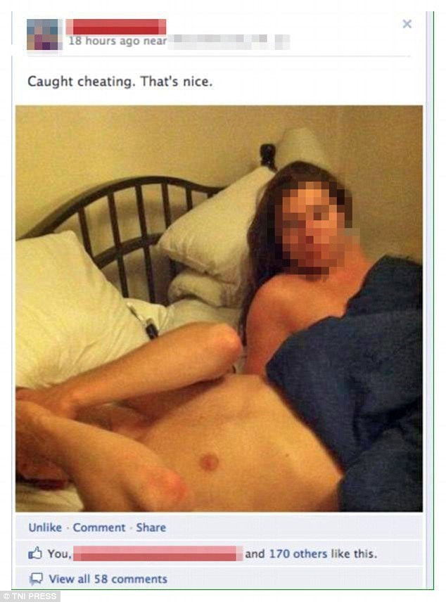 Muscle - X 18 hours ago near Caught cheating. That's nice. Unlike Comment Share You and 170 others like this View all 58 comments TNI PRESS