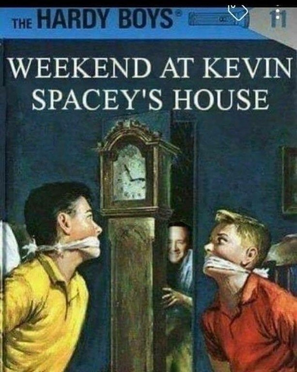 Hardy Boys cover of weekend at kevin spacey's house
