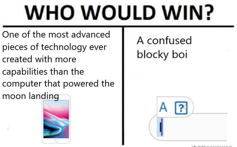 who would win, advanced computer of blocky boi