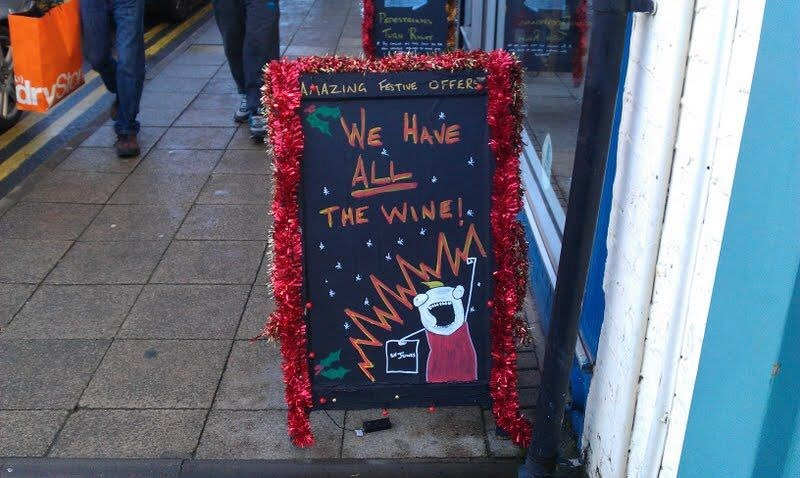 Red - Proesre Ta R ryce AMAZING FesTIVE OFFERS WE HANE ALL THE WINEI