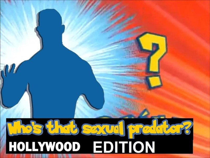 who's that pokemon card where you need to guess the celebrity rapist