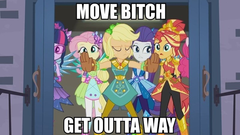 applejack equestria girls screenshot super squad goals ludacris - 9094896384